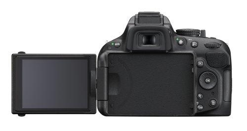 Nikon D5200 SLR-Digitalkamera (24,1 Megapixel, 7,6 cm (3 Zoll) TFT-Display, Full HD, HDMI) Kit inkl. AF-S DX 18-105 mm VR Objektiv schwarz - 1