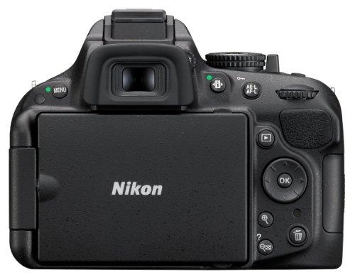 Nikon D5200 SLR-Digitalkamera (24,1 Megapixel, 7,6 cm (3 Zoll) TFT-Display, Full HD, HDMI) nur Gehäuse schwarz - 2
