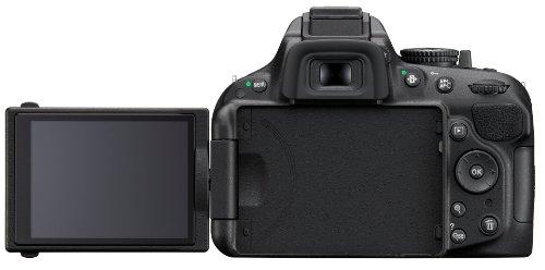 Nikon D5200 SLR-Digitalkamera (24,1 Megapixel, 7,6 cm (3 Zoll) TFT-Display, Full HD, HDMI) nur Gehäuse schwarz - 3