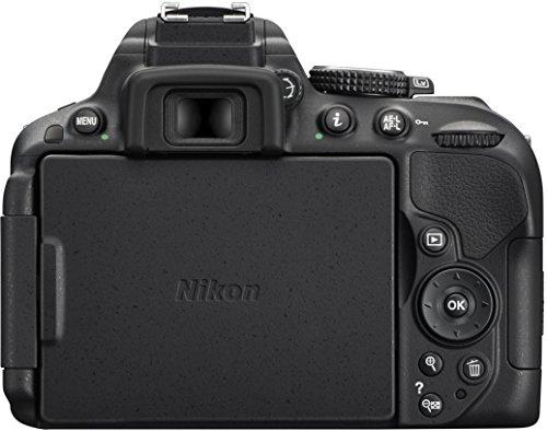 Nikon D5300 SLR-Digitalkamera (24,2 Megapixel, 8,1 cm (3,2 Zoll) LCD-Display, Full HD, HDMI, WiFi, GPS, AF-System mit 39 Messfeldern) Kit inkl. AF-S DX 18-105 VR Objektiv schwarz - 3