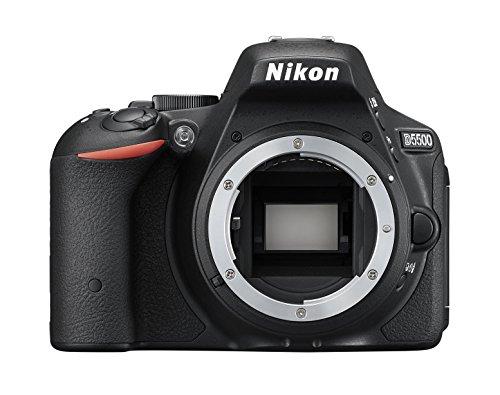 Nikon D5500 SLR-Digitalkamera (24 Megapixel, 8,1 cm (3,2 Zoll) Touchscreen-Display, bildstabilisiert, Full-HD-Video, Wi-Fi) Kit inkl. 18-55mm VR II Objektiv schwarz - 3