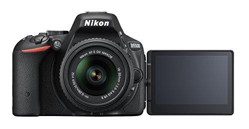 Nikon D5500 SLR-Digitalkamera (24 Megapixel, 8,1 cm (3,2 Zoll) Touchscreen-Display, bildstabilisiert, Full-HD-Video, Wi-Fi) Kit inkl. 18-55mm VR II Objektiv schwarz - 7