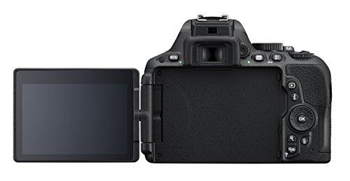 Nikon D5500 SLR-Digitalkamera (24,2 Megapixel, 8,1 cm (3,2 Zoll) Neig- und drehbares Touchscreen-Display, 39 AF-Messfelder, ISO 100-25.600, Full-HD-Video, Wi-Fi, HDMI) Kit inkl. DX 18-55 mm VR II Objektiv schwarz - 4