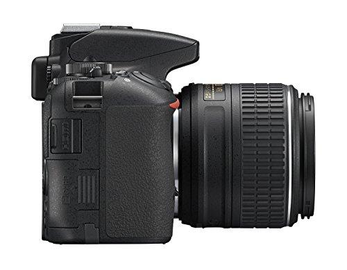 Nikon D5500 SLR-Digitalkamera (24,2 Megapixel, 8,1 cm (3,2 Zoll) Neig- und drehbares Touchscreen-Display, 39 AF-Messfelder, ISO 100-25.600, Full-HD-Video, Wi-Fi, HDMI) Kit inkl. DX 18-55 mm VR II Objektiv schwarz - 8
