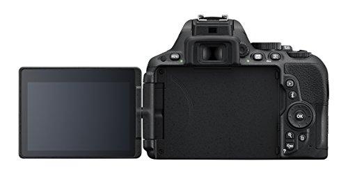 Nikon D5500 SLR-Digitalkamera (24,2 Megapixel, 8,1 cm (3,2 Zoll) Neig- und drehbares Touchscreen-Display, 39 AF-Messfelder, ISO 100-25.600, Full-HD-Video, Wi-Fi, HDMI) nur Gehäuse schwarz - 4