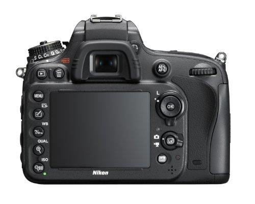 Nikon D610 SLR-Digitalkamera (24,3 Megapixel, 8,1 cm (3,2 Zoll) Display, Full HD, AF-System mit 39 Messfeldern) nur Gehäuse schwarz - 1
