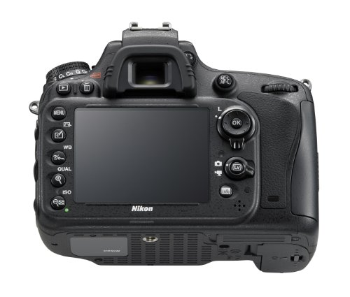 Nikon D610 SLR-Digitalkamera (24,3 Megapixel, 8,1 cm (3,2 Zoll) Display, Full HD, AF-System mit 39 Messfeldern) nur Gehäuse schwarz - 2