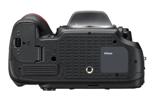 Nikon D610 SLR-Digitalkamera (24,3 Megapixel, 8,1 cm (3,2 Zoll) Display, Full HD, AF-System mit 39 Messfeldern) nur Gehäuse schwarz - 3