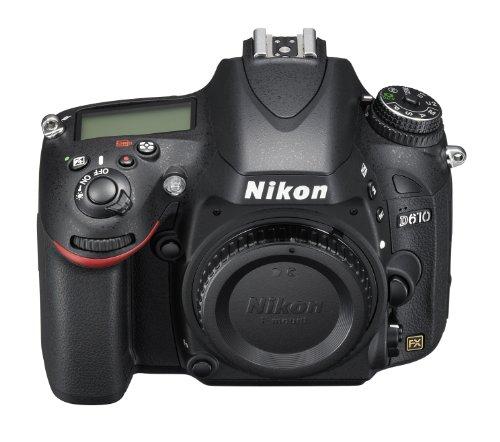 Nikon D610 SLR-Digitalkamera (24,3 Megapixel, 8,1 cm (3,2 Zoll) Display, Full HD, AF-System mit 39 Messfeldern) nur Gehäuse schwarz - 6
