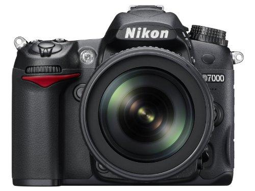 Nikon D7000 SLR-Digitalkamera (16 Megapixel, 39 AF-Punkte, LiveView, Full-HD-Video) Kit inkl. AF-S DX 18-105 VR - 1
