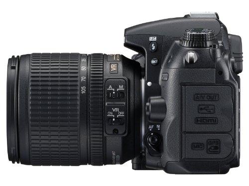 Nikon D7000 SLR-Digitalkamera (16 Megapixel, 39 AF-Punkte, LiveView, Full-HD-Video) Kit inkl. AF-S DX 18-105 VR - 2