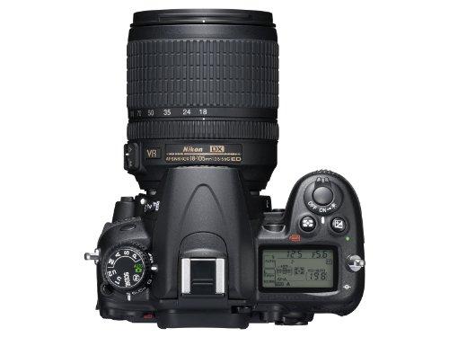 Nikon D7000 SLR-Digitalkamera (16 Megapixel, 39 AF-Punkte, LiveView, Full-HD-Video) Kit inkl. AF-S DX 18-105 VR - 3