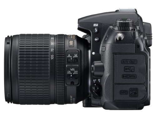 Nikon D7000 SLR-Digitalkamera (16 Megapixel, 39 AF-Punkte, LiveView, Full-HD-Video) Kit inkl. AF-S DX 18-105 VR - 4