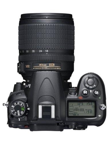Nikon D7000 SLR-Digitalkamera (16 Megapixel, 39 AF-Punkte, LiveView, Full-HD-Video) Kit inkl. AF-S DX 18-105 VR - 5