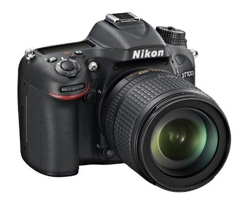 Nikon D7100 SLR-Digitalkamera (24 Megapixel, 8 cm (3,2 Zoll) TFT-Monitor, Full-HD-Video) Kit inkl. AF-S DX 18-105 mm 1:3,5-5,6G ED VR Objektiv schwarz - 2