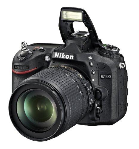 Nikon D7100 SLR-Digitalkamera (24 Megapixel, 8 cm (3,2 Zoll) TFT-Monitor, Full-HD-Video) Kit inkl. AF-S DX 18-105 mm 1:3,5-5,6G ED VR Objektiv schwarz - 7
