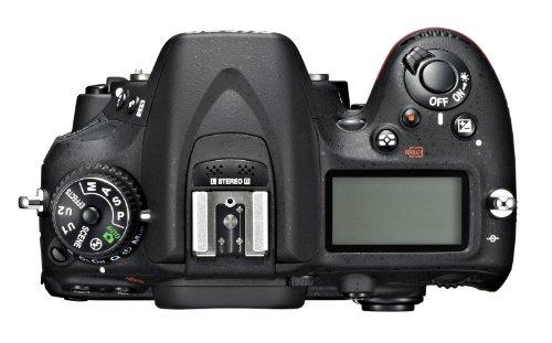 Nikon D7100 SLR-Digitalkamera (24 Megapixel, 8 cm (3,2 Zoll) TFT-Monitor, Full-HD-Video) nur Gehäuse schwarz - 2