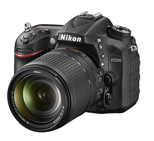 Nikon D7200 (24 Megapixel, 8 cm (3,2 Zoll) LCD-Display, Wi-Fi, NFC, Full-HD-Video) Kit inkl. AF-S DX Nikkor 18-140 mm 1:3,5-5,6G ED VR Objektiv - 1