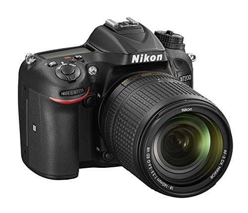 Nikon D7200 (24 Megapixel, 8 cm (3,2 Zoll) LCD-Display, Wi-Fi, NFC, Full-HD-Video) Kit inkl. AF-S DX Nikkor 18-140 mm 1:3,5-5,6G ED VR Objektiv - 2