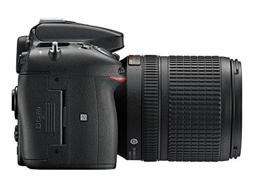 Nikon D7200 (24 Megapixel, 8 cm (3,2 Zoll) LCD-Display, Wi-Fi, NFC, Full-HD-Video) Kit inkl. AF-S DX Nikkor 18-140 mm 1:3,5-5,6G ED VR Objektiv - 5