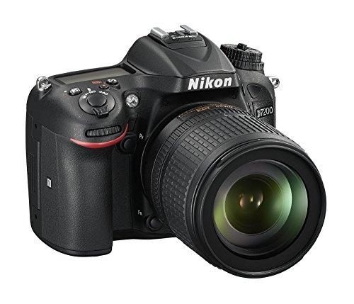 Nikon D7200 SLR-Digitalkamera (24 Megapixel, 8 cm (3,2 Zoll) LCD-Display, Wi-Fi, NFC, Full-HD-Video) Kit inkl. AF-S DX Nikkor 18-105 mm 1:3,5-5,6G ED VR Objektiv - 2