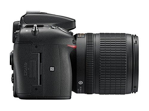 Nikon D7200 SLR-Digitalkamera (24 Megapixel, 8 cm (3,2 Zoll) LCD-Display, Wi-Fi, NFC, Full-HD-Video) Kit inkl. AF-S DX Nikkor 18-105 mm 1:3,5-5,6G ED VR Objektiv - 5