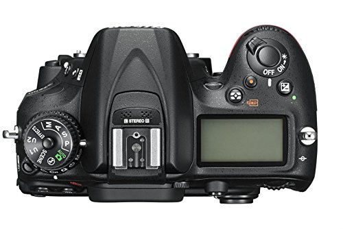 Nikon D7200 SLR-Digitalkamera (24 Megapixel, 8 cm (3,2 Zoll) LCD-Display, Wi-Fi, NFC, Full-HD-Video) nur Kameragehäuse schwarz - 2