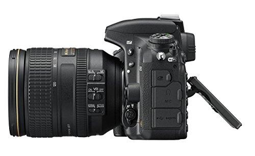 Nikon D750 SLR-Digitalkamera (24,3 Megapixel, 8,1 cm (3,2 Zoll) Display, HDMI, USB 2.0) Kit inkl. AF-S Nikkor 24-120 mm 1:4G ED VR Objektiv schwarz - 13