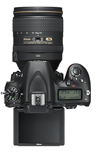 Nikon D750 SLR-Digitalkamera (24,3 Megapixel, 8,1 cm (3,2 Zoll) Display, HDMI, USB 2.0) Kit inkl. AF-S Nikkor 24-120 mm 1:4G ED VR Objektiv schwarz - 14