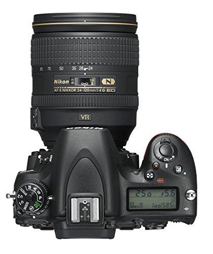 Nikon D750 SLR-Digitalkamera (24,3 Megapixel, 8,1 cm (3,2 Zoll) Display, HDMI, USB 2.0) Kit inkl. AF-S Nikkor 24-120 mm 1:4G ED VR Objektiv schwarz - 15