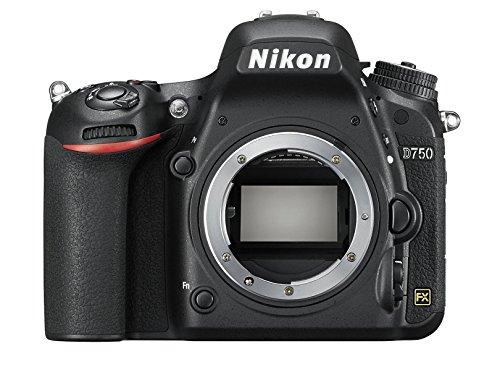 Nikon D750 SLR-Digitalkamera (24,3 Megapixel, 8,1 cm (3,2 Zoll) Display, HDMI, USB 2.0) Kit inkl. AF-S Nikkor 24-120 mm 1:4G ED VR Objektiv schwarz - 16