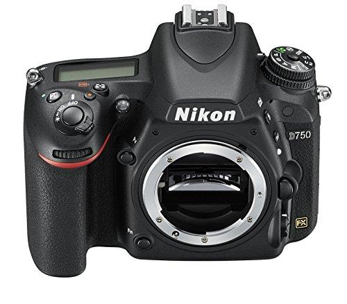 Nikon D750 SLR-Digitalkamera (24,3 Megapixel, 8,1 cm (3,2 Zoll) Display, HDMI, USB 2.0) Kit inkl. AF-S Nikkor 24-120 mm 1:4G ED VR Objektiv schwarz - 17