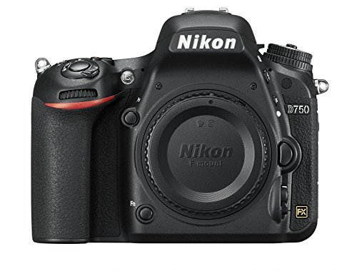 Nikon D750 SLR-Digitalkamera (24,3 Megapixel, 8,1 cm (3,2 Zoll) Display, HDMI, USB 2.0) Kit inkl. AF-S Nikkor 24-120 mm 1:4G ED VR Objektiv schwarz - 18