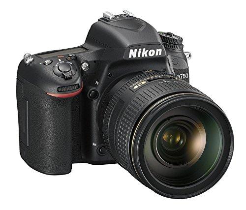 Nikon D750 SLR-Digitalkamera (24,3 Megapixel, 8,1 cm (3,2 Zoll) Display, HDMI, USB 2.0) Kit inkl. AF-S Nikkor 24-120 mm 1:4G ED VR Objektiv schwarz - 3