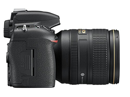 Nikon D750 SLR-Digitalkamera (24,3 Megapixel, 8,1 cm (3,2 Zoll) Display, HDMI, USB 2.0) Kit inkl. AF-S Nikkor 24-120 mm 1:4G ED VR Objektiv schwarz - 4