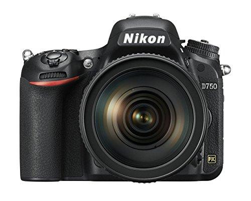 Nikon D750 SLR-Digitalkamera (24,3 Megapixel, 8,1 cm (3,2 Zoll) Display, HDMI, USB 2.0) Kit inkl. AF-S Nikkor 24-120 mm 1:4G ED VR Objektiv schwarz - 9