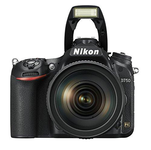 Nikon D750 SLR-Digitalkamera (24,3 Megapixel, 8,1 cm (3,2 Zoll) Display, HDMI, USB 2.0) nur Gehäuse schwarz - 10