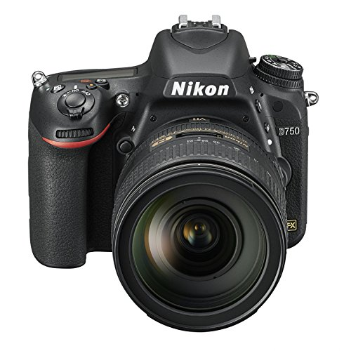 Nikon D750 SLR-Digitalkamera (24,3 Megapixel, 8,1 cm (3,2 Zoll) Display, HDMI, USB 2.0) nur Gehäuse schwarz - 7