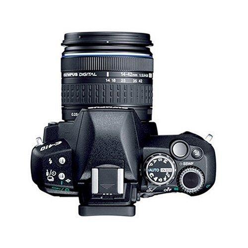 Olympus E-410 SLR-Digitalkamera (10 Megapixel, LifeView) Double Zoom Kit inkl. EZ1442 und EZ4015 - 2