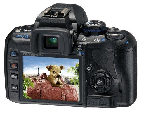 Olympus E-420 SLR-Digitalkamera (10 Megapixel, LifeView) Kit inkl. 14-42mm & 40-150mm Objektive - 1