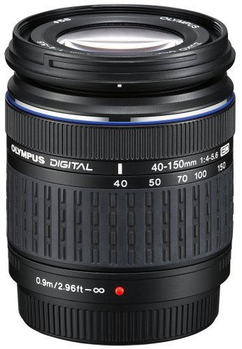 Olympus E-620 SLR-Digitalkamera (12,3 Megapixel, Bildstabilisator, Live View, Art Filter) Kit inkl. 14-42mm & 40-150mm Objektive - 1