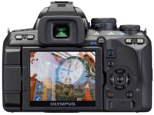 Olympus E-620 SLR-Digitalkamera (12,3 Megapixel, Bildstabilisator, Live View, Art Filter) Kit inkl. 14-42mm & 40-150mm Objektive - 2