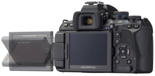 Olympus E-620 SLR-Digitalkamera (12,3 Megapixel, Bildstabilisator, Live View, Art Filter) Kit inkl. 14-42mm & 40-150mm Objektive - 3