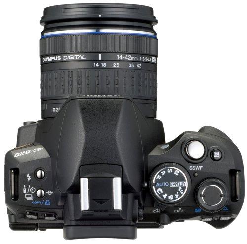 Olympus E-620 SLR-Digitalkamera (12,3 Megapixel, Bildstabilisator, Live View, Art Filter) Kit inkl. 14-42mm & 40-150mm Objektive - 5
