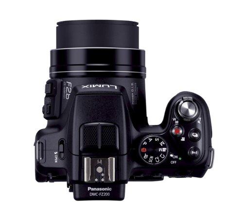Panasonic digital cameras Lumix black DMC-FZ200-K - 3