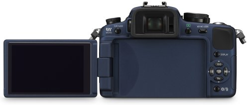 Panasonic Lumix DMC-G1K SLR-Digitalkamera (12 Megapixel, LiveView) blau inkl. Vario 14-45 mm F3,5-5,6 - 5