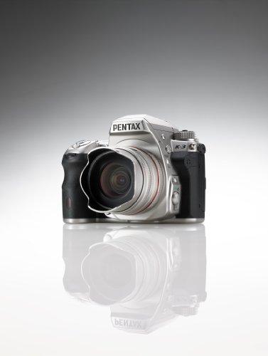 Pentax K-3 Premium Edition SLR-Digitalkamera (24 Megapixel, 8,1 cm (3,2 Zoll) LCD-Display, Live View, Full HD) inkl. Handgriff/Ersatzakku silber - 4
