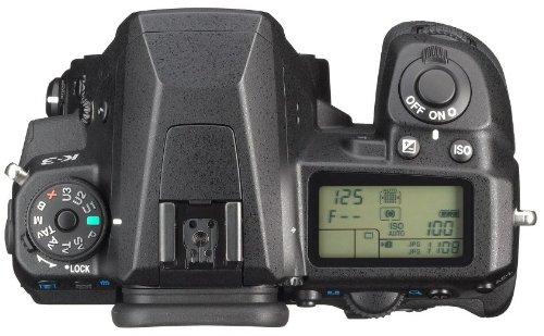 Pentax K-3 SLR-Digitalkamera (24 Megapixel, 8,1 cm (3,2 Zoll) LCD-Display, Live View, Full HD) nur Gehäuse schwarz - 6