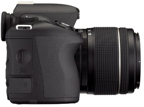 Pentax K 50 SLR-Digitalkamera (16 Megapixel, APS-C CMOS Sensor, 1080p, Full HD, 7,6 cm (3 Zoll) Display, Bildstabilisator) schwarz inkl. Objektiv DA L 18-55 mm WR - 6