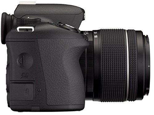 Pentax K 50 SLR-Digitalkamera (16 Megapixel, APS-C CMOS Sensor, 1080p, Full HD, 7,6 cm (3 Zoll) Display, Bildstabilisator) schwarz inkl. Objektiven DA L 18-55 mm WR & DA L 50-200 mm WR - 7